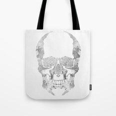 Skull BW Tote Bag