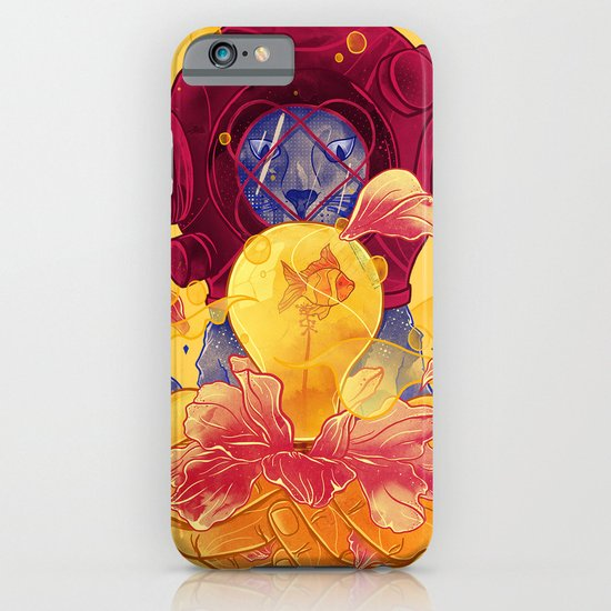 La Lumiere (Yellow) iPhone & iPod Case