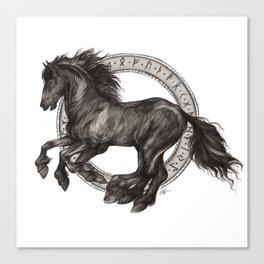 Sleipnir - Odin's Horse - Viking Canvas Print