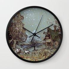The Gardens of Astronomer Wall Clock