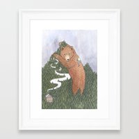 onward Framed Art Prints featuring Onward by Alexa Roberts