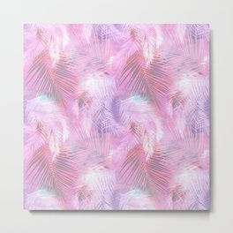 Tamarindo Pink Metal Print