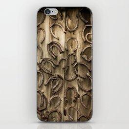 Horseshoes iPhone Skin