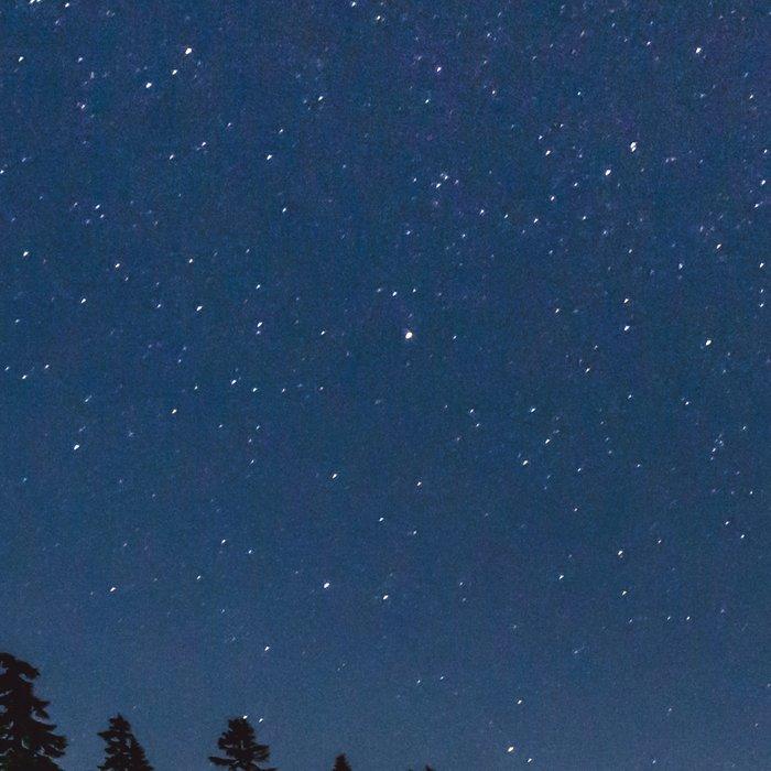 Summer Stars - Galaxy Mountain Reflection - Nature Photography Leggings
