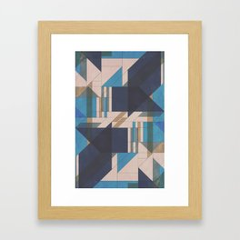 Abstract Glass Framed Art Print