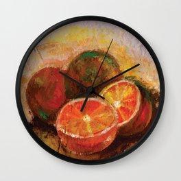 Frutas II (Fruits II) Wall Clock