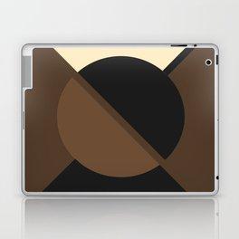 Circle Circle Septia Laptop & iPad Skin