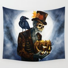 Shadow Man 4 Wall Tapestry