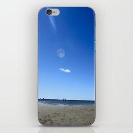 Blue Memory iPhone Skin