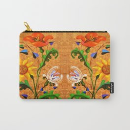 Bouquet. Flowers. Plant. Carry-All Pouch