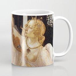 La Primavera - The Three Graces - Sandro Botticelli Coffee Mug