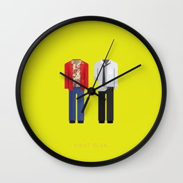 Fight Club | Famous Costumes Wall Clock
