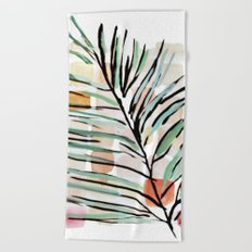 Darling, Through This Way: Under The Leaves Beach Towel