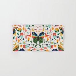 Vintage Butterflies Hand & Bath Towel