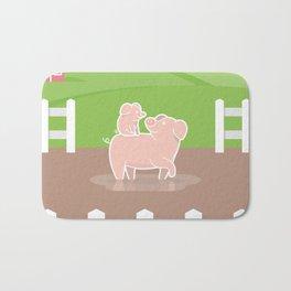 Piggyback Bath Mat