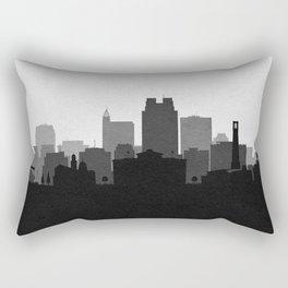 City Skylines: Raleigh Rectangular Pillow