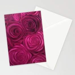 Vertical Roses Stationery Cards