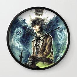 Nico Di Angelo - Son Of Hades Wall Clock