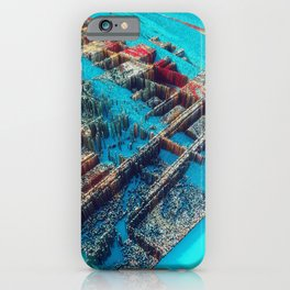 City of Cubes iPhone Case
