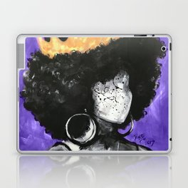 Naturally Queen II PURPLE Laptop & iPad Skin