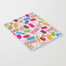 Ice Cream Doodles Notebook