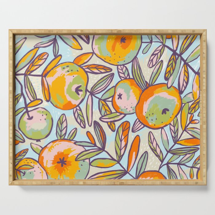 Bright apples Serving Tray