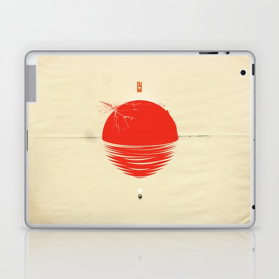 "Japan relief poster/all proceeds will go to ""Peace Winds"" Laptop & iPad Skin"