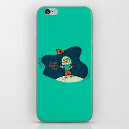 I will conquer you! iPhone Skin