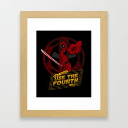 Hey you... yeah YOU! Framed Art Print