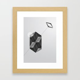 Space two Framed Art Print
