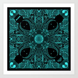 Tentacle void Art Print