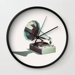 Lo-Fi goes 3D - Vinyl Record Player Wall Clock