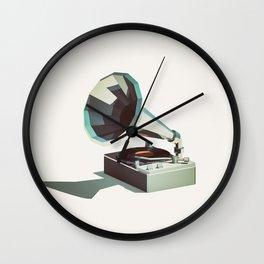 Lo-Fi goes 3D - Vinyl Record Player Wall Clock