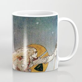 Kay Nielsen - A King Who Goes To Find A Wolf That Has Returned To A White Country Coffee Mug