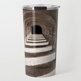 Corridors of Stone Travel Mug