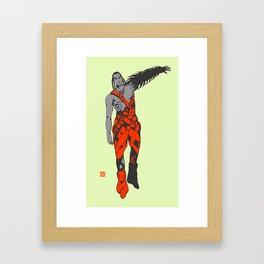 X6 Framed Art Print