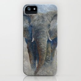 Elephant 2 iPhone Case