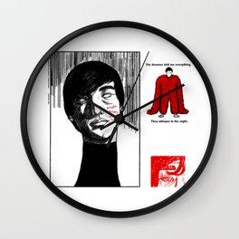 joji~demons Wall Clock