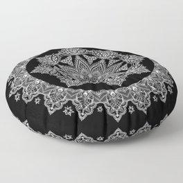 Lotus Dreams Mandala Floor Pillow