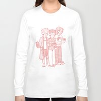 sweater Long Sleeve T-shirts featuring Sweater Weather by rdjpwns