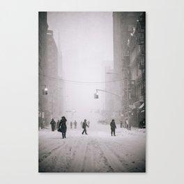 Storm Jonas Canvas Print