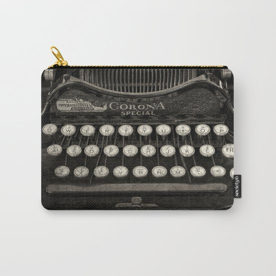 Old Typewriter Keyboard Carry-All Pouch