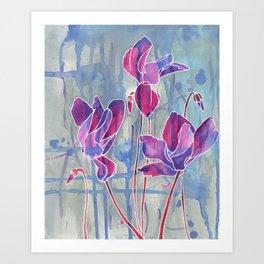Soft Surrender  Art Print