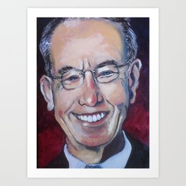 """Taliban Republican: Senator Charles """"Chuck"""" Grassley Art Print"""