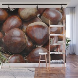 Sweet chestnuts Wall Mural