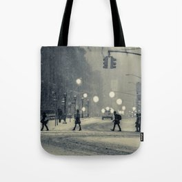 Snow City Tote Bag