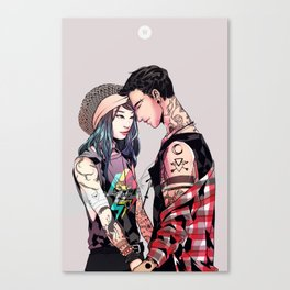 So are we going to make out? Canvas Print