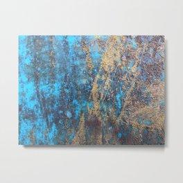 Rusty Art Metal Print