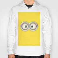 minions Hoodies featuring Banana! by MrWhite
