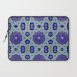 Samarkand Kaleidoscope in Blue Laptop Sleeve